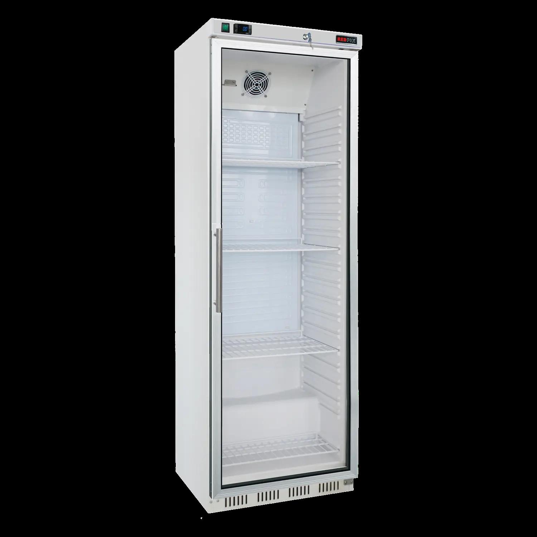 Chladnička biela presklená ventilovaná 400 l, HR-400G - 1