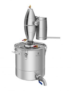 Destilátor - 30 litrov - 4-stupňové chladenie - RCAD30C 1