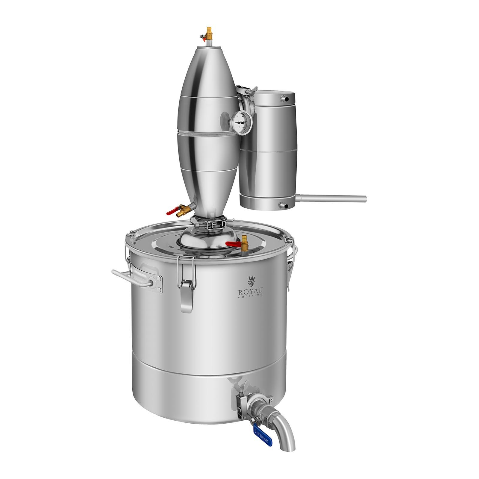 Destilátor - 30 litrov - 4-stupňové chladenie - RCAD30C