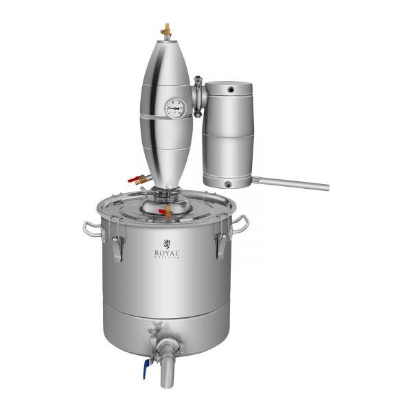 Destilátor - 30 litrov - 4-stupňové chladenie - RCAD30C 2