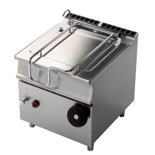 Elektrická smažiaca panvica 80l - 800x900mm - 15kw - BR80-98ET