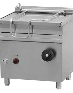 Elektrická smažiaca panvica 50l - 800x700mm - 10,5 kw - BR50-78ET/N