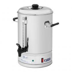Kávovar na prekvapkávanú kávu - 10 l výkon: 1 150 W funkcie prekvapkávania kávy a udržanie teploty objem 10 litrov s nalievacim kohútikom max. 85 ° C
