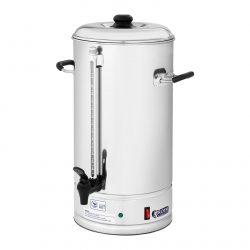 Kávovar na prekvapkávanú kávu - 15 l výkon: 1 500 W funkcia prekvapkávanie kávy a udržanie teploty objem 15 litrov s nalievacím kohútkom max. 85 °C