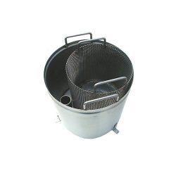 Lapač šupiek a škrobu - nerezový | LS1N/12,20,40
