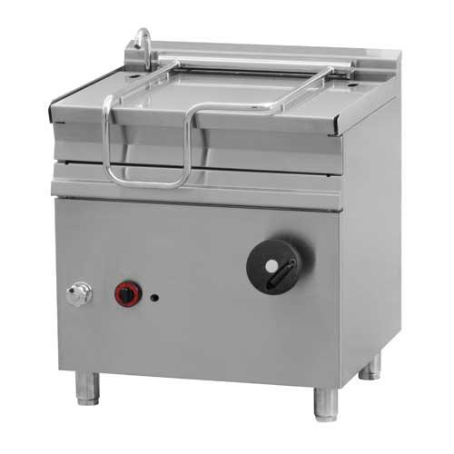 Plynová smažiaca panvica 50l - 800x700mm - 14kw - BR50-78G/N