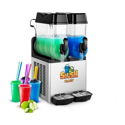 Výrobník ľadovej drte - 2 x 12 litrov - LED - 1