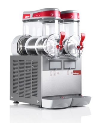 Výrobník ľadovej drte 2x6 L - 1