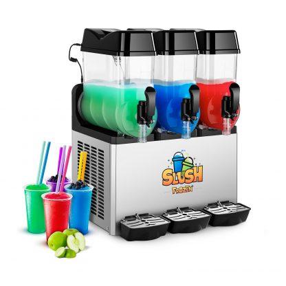 Výrobník ľadovej drte - 3 x 12 litrov - LED - 1