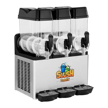 Výrobník ľadovej drte - 3 x 12 litrov - LED - 2