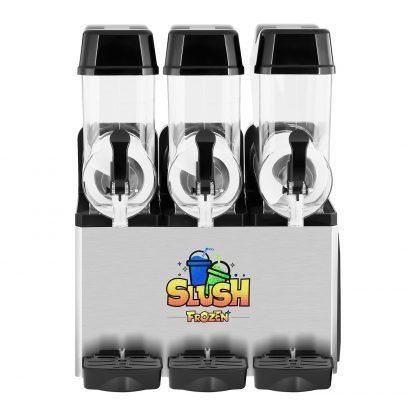 Výrobník ľadovej drte - 3 x 12 litrov - LED - 3