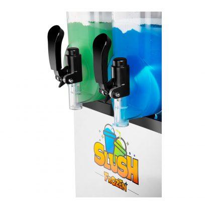 Výrobník ľadovej drte 2 x 12 litrov - LED | model RCSL 2 12 - 5