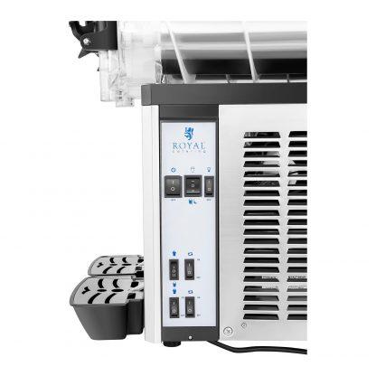 Výrobník ľadovej drte 2 x 12 litrov - LED | model RCSL 2 12 - 7