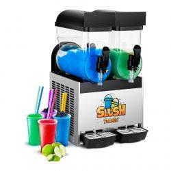Výrobník ľadovej drte - 2 x 15 litrov | model RCSL 2/15