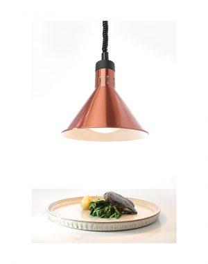 Ohrevná lampa - medená HENDI 273876