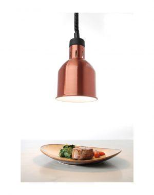 Ohrevná lampa - medená HENDI 273890
