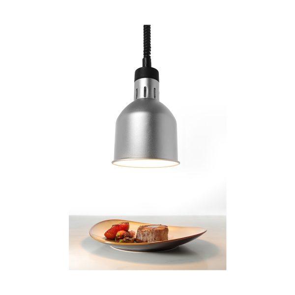 Ohrevná lampa - strieborná HENDI 273883