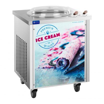 Stroj na thajskú zmrzlinu - rolovana zmrzlina - 45 cm - 1