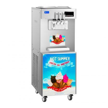 Stroj na točenú zmrzlinu - 2400 W - 14 l - 3 príchute - 1