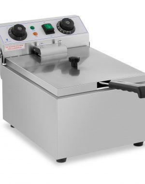 Elektrická fritéza - 10 litrov - časovač - 230 V - 1