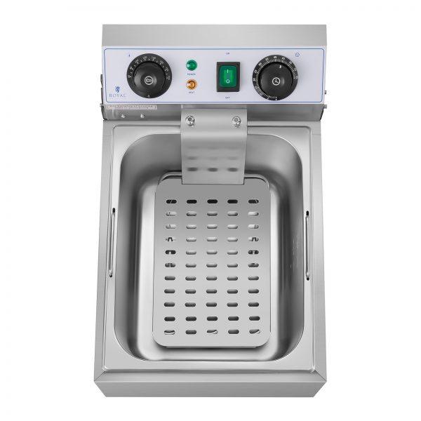Elektrická fritéza - 10 litrov - časovač - 230 V - 2