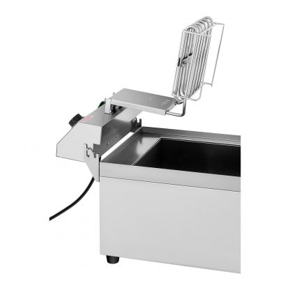 Elektrická fritéza - 16 litrov - vypúšťací kohút - 230 V - 3