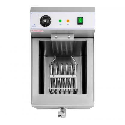 Elektrická fritéza - 16 litrov - vypúšťací kohút - 230 V - 4