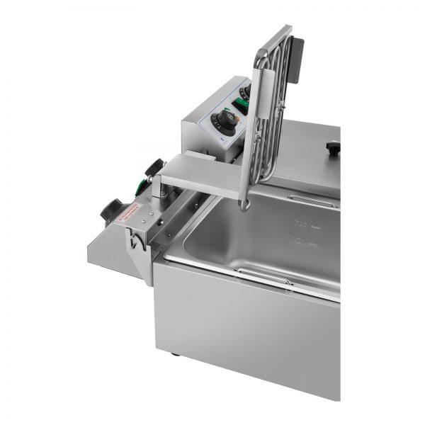 Elektrická fritéza - 2 x 10 litrov - časovač - 230 V - 3