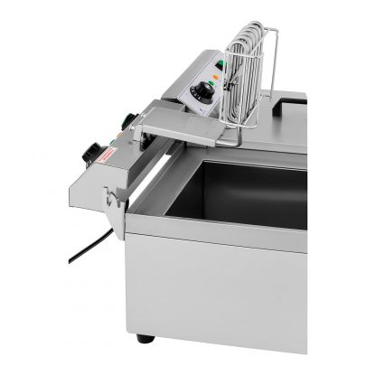 Elektrická fritéza - 2 x 13 litrov - vypúšťacie kohúty - 230 V - 2
