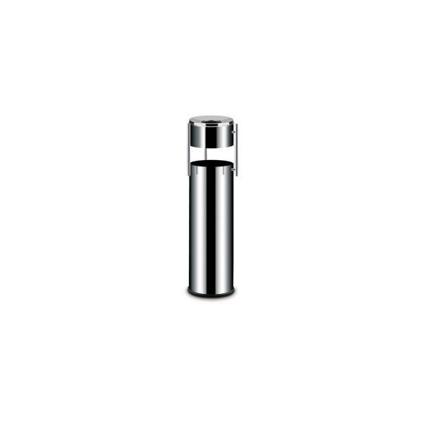 Nerezový popolník s košom | oddelený - 15 L HENDI
