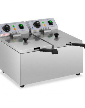 Elektrická fritéza - 2 x 8 litrov - 230 V -1