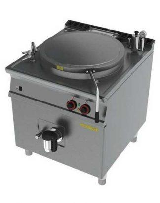 Elektrický varný kotol 150 L | 800/900, BI150-98ET. Výborný pomocník v školských jedálňach, hoteloch, kuchyniach. Príkon 21,5 kW, dvojitá regulácia výkonu.