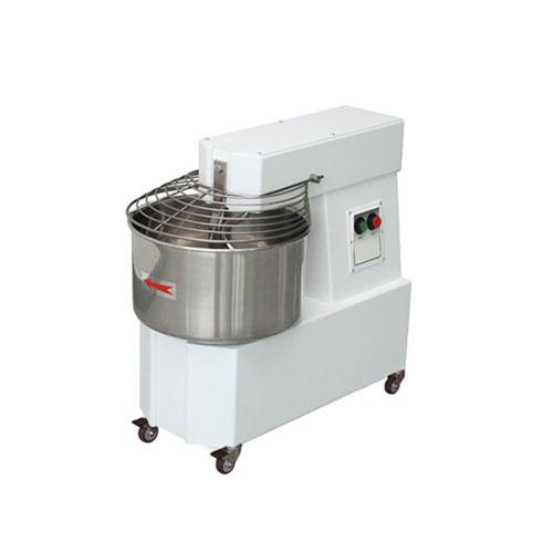 Miesič na cesto 15 L | pevná hlava a kotlík, 230V, HTF-15/M, vhodný pre použitie v školských kuchyniach, pizzérií, pekárni alebo cukrárni. Kapacita na 12 kg cesta.