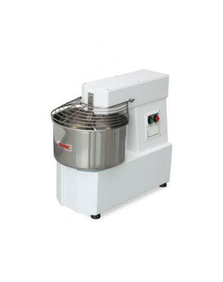 Miesič na cesto 10 L | pevná hlava a kotlík, 230V, HTF-10/M, vhodný pre použitie v školských kuchyniach, pizzérií, pekárni alebo cukrárni. Kapacita na 8 kg cesta.
