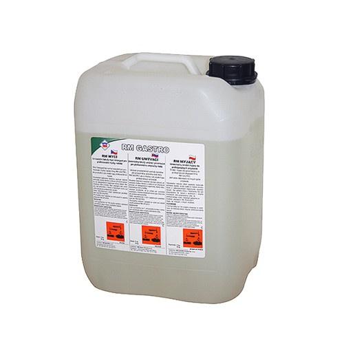 Umývací prostriedok do umývačiek riadu 25KG | RM UMÝVACÍ, univerzálny tekutý umývací detergent určený na používanie pre profesionálne umývačky riadu.