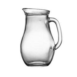 KRČAH na nápoje 1 L | sklenený, s objemom 1 L, vhodný na prípravu a podávanie chladených aj horúcich nápojov, džúsov, mlieka a pod.