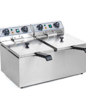 Fritéza - 2 x 10 litrov + časovač | RCTF-10DH