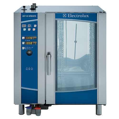 Konvektomat Electrolux 10XGN1/1 | Bojlerový, AOS-101EBA2, funkcie Cook&Hold, Eco-delta T pečenie, manuálne privlhčenie.nízkoteplotné pečenie.
