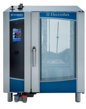 Konvektomat Elextrolux 10XGN1/1 | bojlerový, programovateľný AOS-101ETA1. Dotykový HD displej s piktogramami, bodová teplotná sonda.