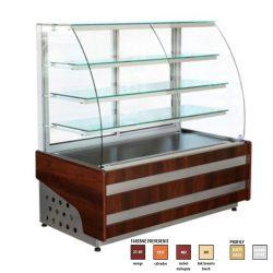 Chladiaca vitrína 300 L   WCH1/C-ESTERA-95, ventilované chladenie, prevádzková teplota: +5/+15°C, teplota okolia do +25°C.