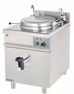 Elektrický varný kotol 85 L | okrúhly duplikátor KE-85-O, automatické napúšťanie vody, príkon 12 kW, bezpečnostná tlaková armatúra, nerezové prevedenie.