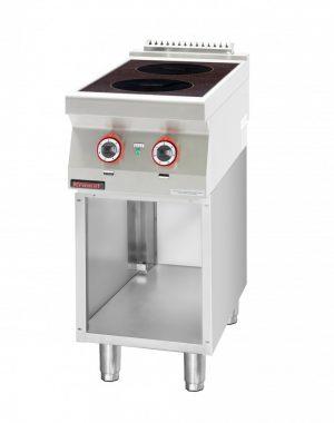 Indukčný varič s otvorenou skriňou 700.KE-2i 400.S - 1