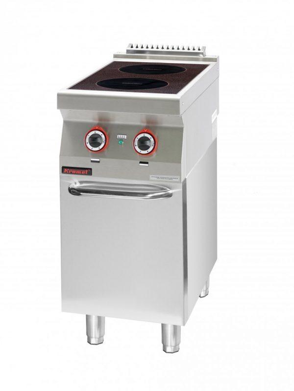 Indukčný varič s uzavretou skriňou 700.KE-2i 400.S.D - 1