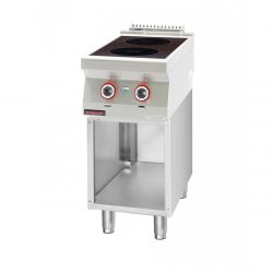 Indukčný varič s otvorenou skriňou | 700.KE-2i/400.S