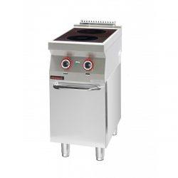 Indukčný varič s uzavretou skriňou | 700.KE-2i/400.S.D