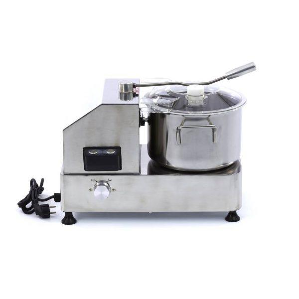 Kuchynský kuter | Maxima Deluxe Cutter 6 litrov, vyrobený z nerezovej ocele, výkoný 950 W, počet otáčok 1100 - 2800 ot / min.