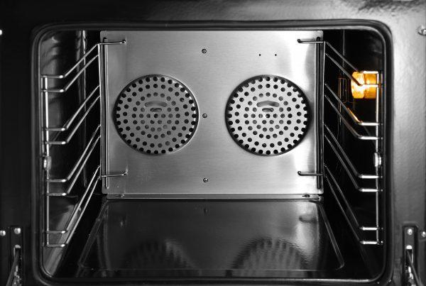 Elektrická teplovzdušná pec bez ZAVLHČOVANIA H90 | HENDI 227060, 2 ventilátory, nastaviteľná teplota od 50 do 300 ° C,časovač od 0 do 120 minút.