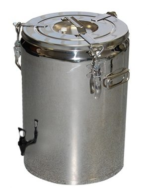 Nerezový termos - 20 l s výpustným ventilom