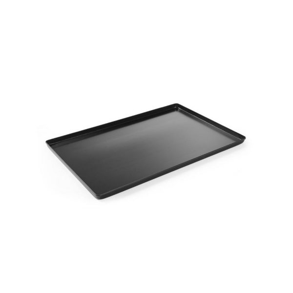 Cukrárenská tácka - čierna - 400 x 300 mm | 808535