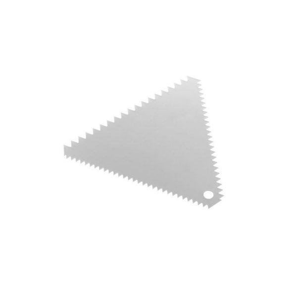 Cukrársko-pekárska škrabka - trojuholníková - 110 x 110 mm | 554227